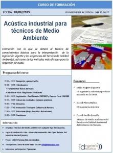 Curso Acústica Industrial - ID ingeniería Acústica