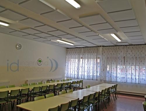 Reducir el ruido en los comedores escolares